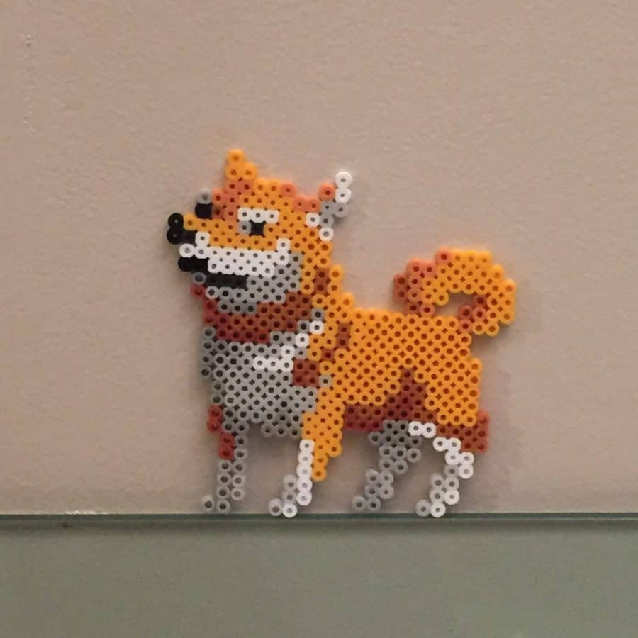Dog Meme Perler Beads