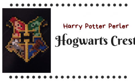 Harry Potter Perler Beads – Hogwarts Crest