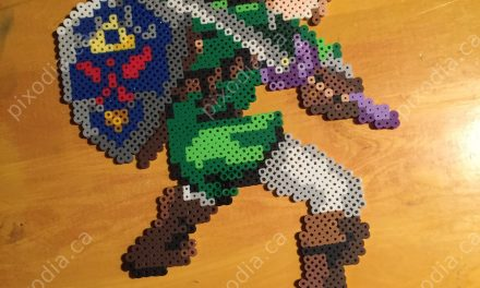 Zelda perler Ocarina of Time – Link